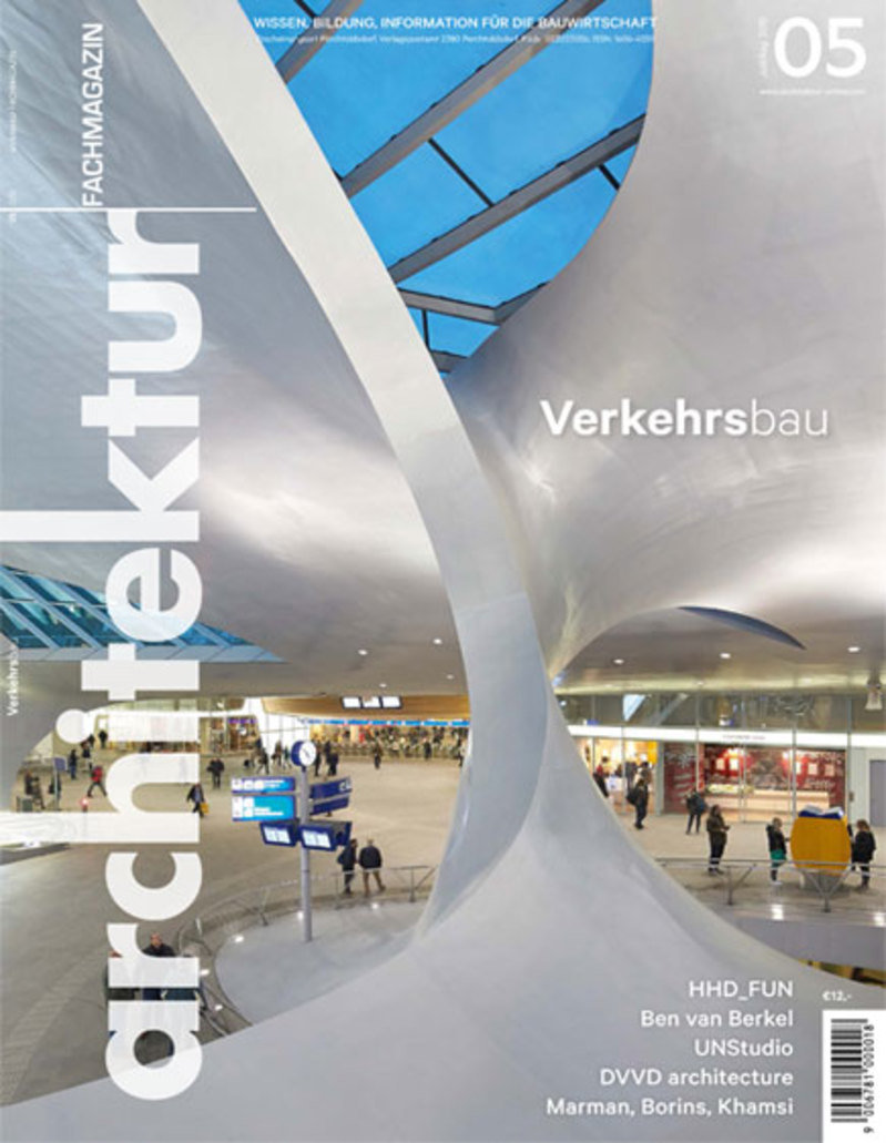 Standard architektur fachmagazin plensa cover uly august2016
