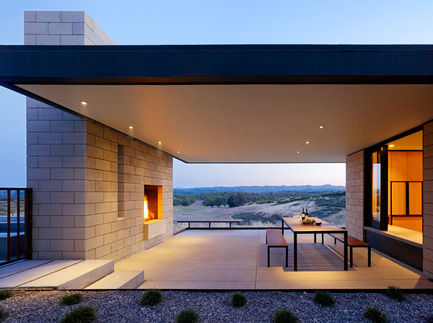 Press kit | 809-05 - Press release | Azure announces the finalists of the second annual AZ Awards - Azure Magazine - Competition - Firm: Aidlin Darling Design<br>Project: Paso Robles Residence