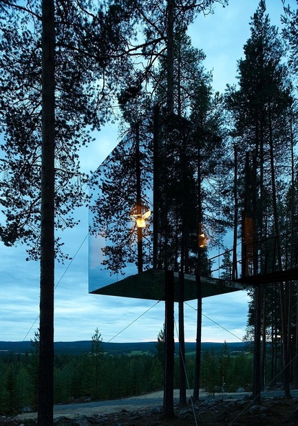Press kit | 661-05 - Press release | World Architecture Festival Awards shortlist announced - World Architecture Festival (WAF) - Competition - Architect Tham & Videgård Arkitekter<br>Tree Hotel, Harads, Sweden - Photo credit: Ake Eson Lindman