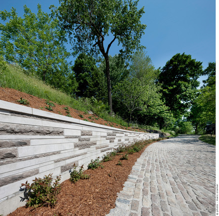 Press kit | 602-04 - Press release | Peel Entrance – Mount Royal Park - Lemay+CHA (Lemay) - Landscape Architecture - Photo credit: Marc Cramer