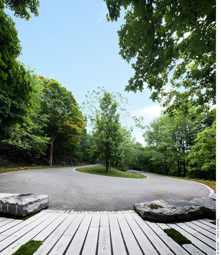 Press kit | 602-04 - Press release | Peel Entrance – Mount Royal Park - Lemay+CHA (Lemay) - Landscape Architecture