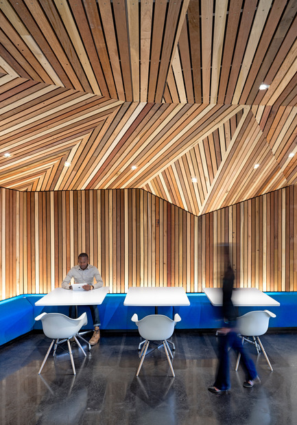 Dossier de presse | 611-13 - Communiqué de presse | Concevoir des projets audacieux et performantsRencontre avec Robin Klehr Avia etThomas Vecchione, de Gensler - Index-Design - Évènement + Exposition -                         Confidential Technology Client - Crédit photo :         Gensler