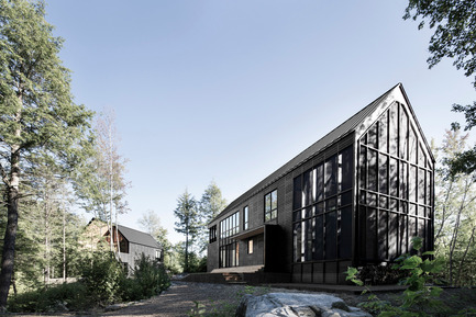 Press kit | 809-11 - Press release | Azure announces the finalists of the fourth annual AZ Awards - Azure Magazine - Competition - Alain Carle Architecte, Les Marais, Wentworth Nord, Quebec, Canada