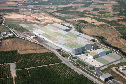 Press kit | 809-11 - Press release | Azure announces the finalists of the fourth annual AZ Awards - Azure Magazine - Competition - Israel Alba, Valencia Waste Treatment Plant, Valencia, Spain