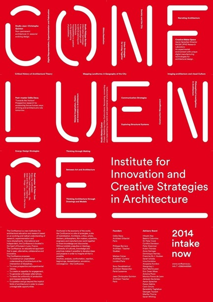 Press kit | 1137-01 - Press release | Launching of a new school of architecture in Lyon, France - Confluence Institute for Innovation and Creative Strategies in Architecture - Institutional Architecture -         La Confluence - Photo credit:         Odile Decq