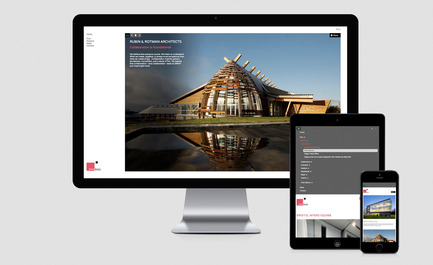 Press kit | 1132-02 - Press release | New website for Rubin & Rotman Architects - Rubin & Rotman Architects - Graphic Design - New website Rubin & Rotman Architects  - Photo credit:         agence volume2