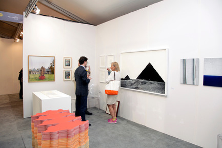 Press kit | 1134-02 - Press release | A successful edition of Papier14 -the contemporary art fair of works on paper - The Contemporary Art Galleries Association (AGAC) - Event + Exhibition -         Kiosque de la galerie Hugues Charbonneau (Montréal) - Photo credit:         ARHphoto
