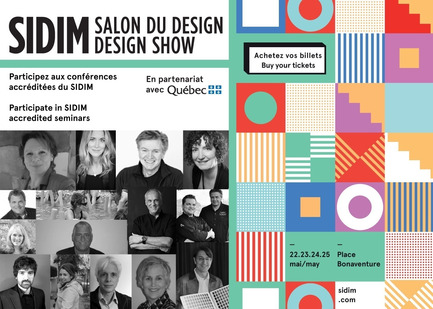 Press kit | 673-07 - Press release | The 26th DESIGN SHOWIdeas, discoveries, networking! - Agence PID - Event + Exhibition