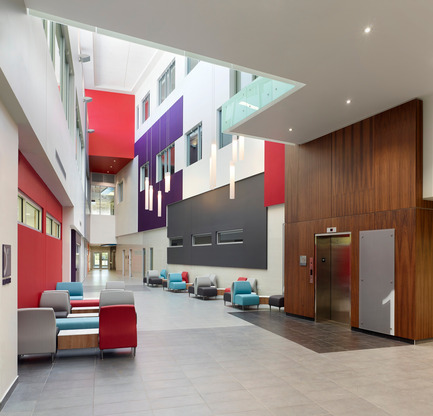 Press kit | 946-02 - Press release | Southwest Centre for Forensic Mental Healthcare - New Facility / Public Private Partnership - Parkin Architects limited - Institutional Interior Design - Photo credit:  Parkin Architects limited