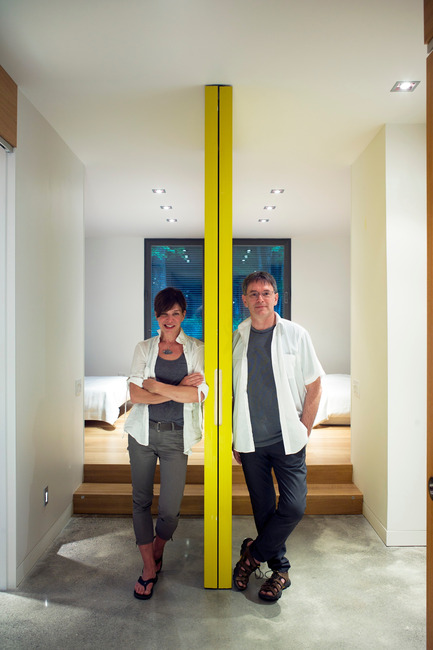 Press kit | 635-06 - Press release | U-HOUSE - Natalie Dionne Architecture - Residential Architecture - Natalie Dionne and Martin Laneuville<br> - Photo credit: Marc Cramer <br>
