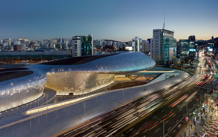 Press kit | 661-23 - Press release | World Architecture Festival Awards 2014 shortlist announced - World Architecture Festival (WAF) - Competition - Dongdaemun Design Plaza - Zaha Hadid Architects