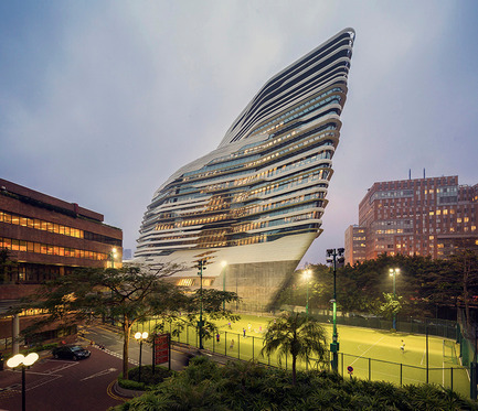 Press kit | 661-23 - Press release | World Architecture Festival Awards 2014 shortlist announced - World Architecture Festival (WAF) - Competition - Jockey Club Innovation Tower - Zaha Hadid Architects