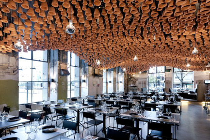 Press kit | 1124-02 - Press release | Shortlist announced for the World Interiors News Annual Awards 2014 - World Interiors News - Competition - Gazi Restaurant by March Studio - Photo credit: Mark Ashkanasy