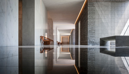 Press kit | 1124-02 - Press release | Shortlist announced for the World Interiors News Annual Awards 2014 - World Interiors News - Competition - Lakewood Cemetery Garden Mausoleum by HGA Architects and Engineers - Photo credit: Paul Crosby