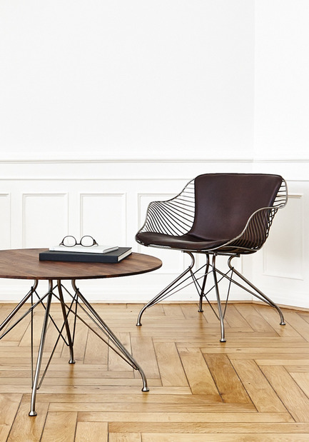 Press kit | 1124-02 - Press release | Shortlist announced for the World Interiors News Annual Awards 2014 - World Interiors News - Competition - Wire Lounge Chair by Overgaard & Dyrman - Photo credit: Overgaard & Dyrman