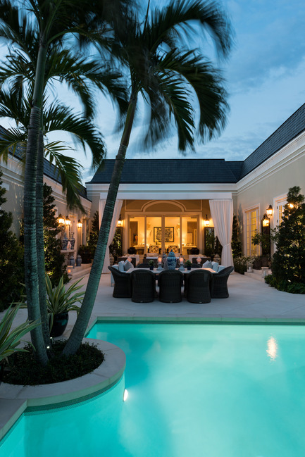 Press kit | 1135-01 - Press release | Reinventing Palm Beach Style - Les Ensembliers - Residential Interior Design - Photo credit:         André Rider