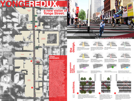 Press kit | 1168-02 - Press release | Toronto's Yonge Street To Become More Pedestrian-Friendly - NXT City Prize - Competition - Winner - YONGE REDUX - Photo credit:         NXT City Prize