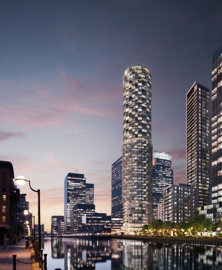 Press kit | 1125-01 - Press release | Winners of MIPIM Architectural Review Future Projects Awards 2014 announced - The Architectural Review - Competition - Future Projects Tall Buildings One Wood Wharf Herzog and de Meuron
