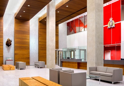 Press kit | 1124-01 - Press release | The WIN Awards 2014 open for entries - World Interiors News - Competition - Official Name of Project: RCMP E Division HeadquartersLocation: Surrey, CanadaArchitects/Designers: Kasian Architecture Interior Design & Planning Ltd.Image Credit: Kasian Architecture Interior Design & Planning Ltd.World Interiors News Awards 2014 Entry: Public sector Category