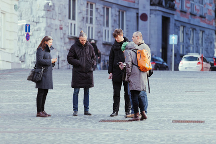 Dossier de presse | 1171-02 - Communiqué de presse | Countdown to the opening of BIO 50, the Biennial of Design in Ljubljana, Slovenia - Museum of Architecture and Design (MAO), Ljubljana - Event + Exhibition - Discovering public space in Ljubljana_Public Water - Public Space - Crédit photo : Lucijan & Vladimir