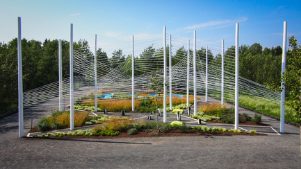Press kit | 837-09 - Press release | Call for proposals - International Garden Festival 2015 - International Garden Festival / Reford Gardens - Landscape Architecture - Le bon arbre au bon endroit by NIPpaysage, Montréal, Québec, Canada - Photo credit: Louise Tanguay