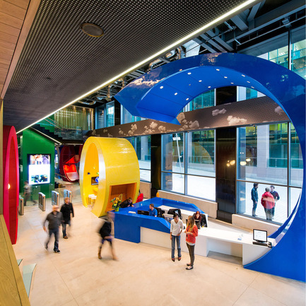 Press kit | 902-03 - Press release | A' Design Award & Competition / International Call for Entries - A' Design Award and Competition - Competition - Design Name : Google Campus Dublin<br>Primary Function : Office Interior Design - Photo credit: Camenzind Evolution, in collaboration with  and Henry J. Lyons Architects ; Photographer Peter Würmli<br>