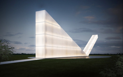 Press kit | 661-24 - Press release | 2014 Winners announced Day one - World Architecture Festival (WAF) - Competition - Freedom of the Press Monument by Gustavo Penna Arquiteto & Associados