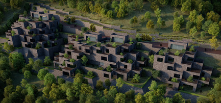 Press kit | 661-25 - Press release | 2014 Winners announced Day two - World Architecture Festival (WAF) - Competition - The Village by Sanjay Puri Architects