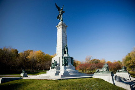 Press kit | 612-09 - Press release | Julia Gersovitz receives the Harley J. McKee Award - Fournier, Gersovitz, Moss, Drolet et associés architectes (FGMDA) - Institutional Architecture -  Sir George-Étienne Cartier Monument after restoration, Montreal<br>  - Photo credit: Yves Lacombe<br>