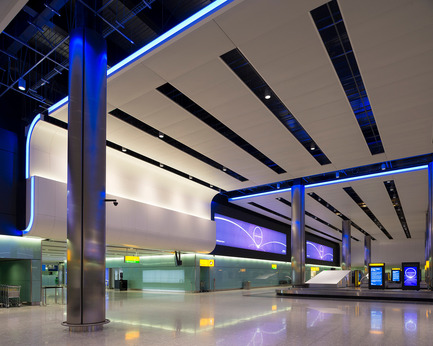 Press kit | 1124-03 - Press release | World Interiors News Annual Awards 2014 Winners Announced - World Interiors News - Competition - 8 Winner of Lighting Projects Category<br>Heathrow Terminal 2, The Queen's Terminal by StudioFRACTAL & Hoare Lea Lighting - Photo credit: James Newton