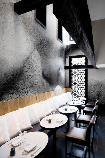 Press kit | 1124-03 - Press release | World Interiors News Annual Awards 2014 Winners Announced - World Interiors News - Competition - Winner of Restaurant Interiors Category<br>Kinugawa by Gilles & Boissier  - Photo credit: Matthieu Salvaing<span></span>