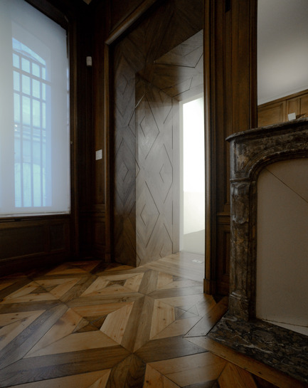 Press kit | 924-02 - Press release | Vincent van Gogh Foundation  Rehabilitation, extension. - Fluor Architecture - Institutional Architecture - Cabinet - Photo credit:   ©Fluor Architecture