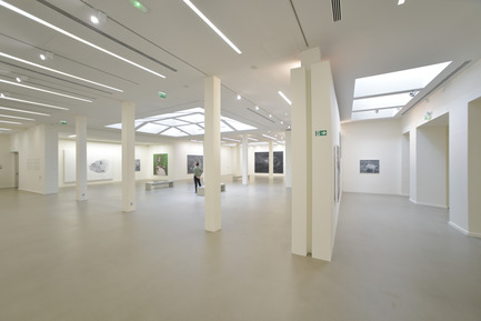 Press kit | 924-02 - Press release | Vincent van Gogh Foundation  Rehabilitation, extension. - Fluor Architecture - Institutional Architecture -  Main exhibait Hall_01  - Photo credit:   ©Fluor Architecture