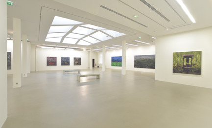 Press kit | 924-02 - Press release | Vincent van Gogh Foundation  Rehabilitation, extension. - Fluor Architecture - Institutional Architecture - Main exhibait Hall_02 - Photo credit:   ©Fluor Architecture
