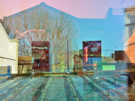 Press kit | 924-02 - Press release | Vincent van Gogh Foundation  Rehabilitation, extension. - Fluor Architecture - Institutional Architecture - Work of the artiste Raphael Hefti_Detail - Photo credit: ©Hervé Hôte