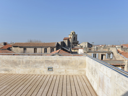 Press kit | 924-02 - Press release | Vincent van Gogh Foundation  Rehabilitation, extension. - Fluor Architecture - Institutional Architecture - Panoramic deck_2 - Photo credit:  ©Hervé Hôte
