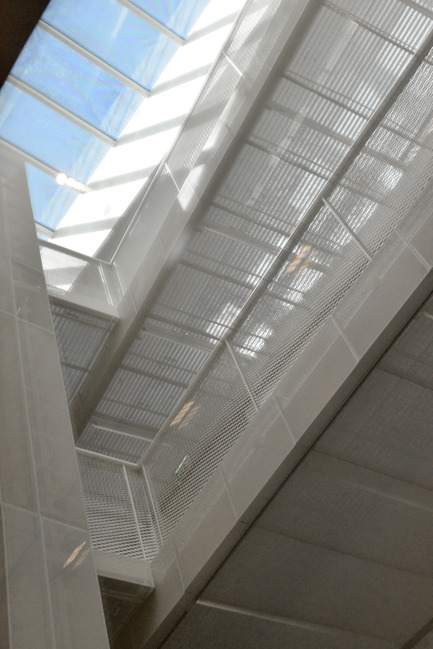 Press kit | 924-02 - Press release | Vincent van Gogh Foundation  Rehabilitation, extension. - Fluor Architecture - Institutional Architecture - Footbridges_Detail - Photo credit:  ©Hervé Hôte