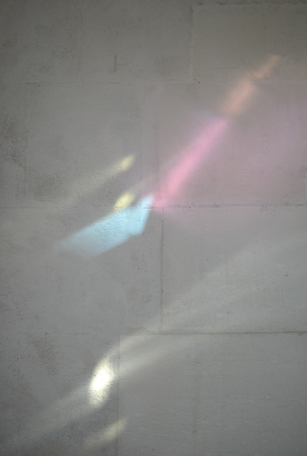 Press kit | 924-02 - Press release | Vincent van Gogh Foundation  Rehabilitation, extension. - Fluor Architecture - Institutional Architecture - Work of the artiste Raphael Hefti on the wall - Photo credit: ©Fluor Architecture