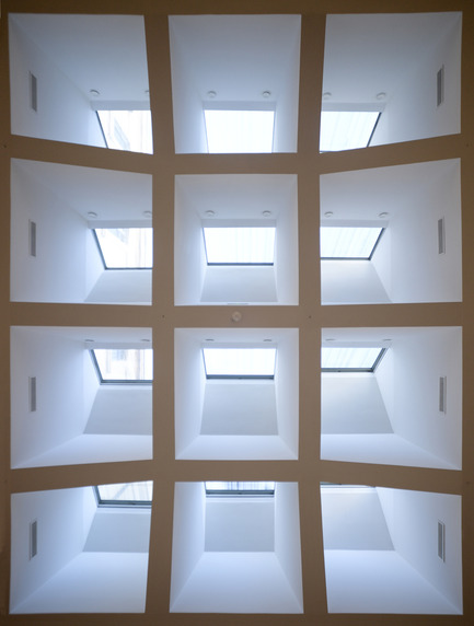 Press kit | 924-02 - Press release | Vincent van Gogh Foundation  Rehabilitation, extension. - Fluor Architecture - Institutional Architecture -  Sheds_Ceiling of light  - Photo credit:  ©Fluor Architecture
