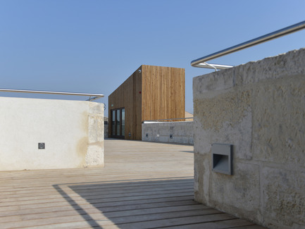 Press kit | 924-02 - Press release | Vincent van Gogh Foundation  Rehabilitation, extension. - Fluor Architecture - Institutional Architecture - Panoramic deck_1 - Photo credit: ©Hervé Hôte