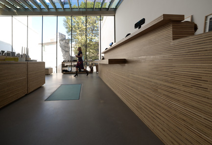 Press kit | 924-02 - Press release | Vincent van Gogh Foundation  Rehabilitation, extension. - Fluor Architecture - Institutional Architecture - Shop_Detail - Photo credit: ©Fluor Architecture