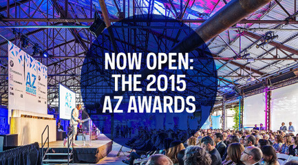 Press kit | 809-14 - Press release | 2015 AZ Awards now open for entries - Azure Magazine - Competition