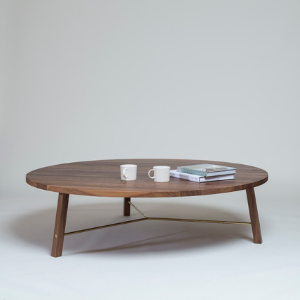 Press kit | 1189-02 - Press release | Another Country present collection updates at Maison & Objet 2015 - Another Country - Industrial Design -  Custom Series Two Coffee Table in Walnut - Photo credit:  Another Country<br>