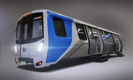 Dossier de presse | 673-10 - Communiqué de presse | GalaGRANDS PRIX DU DESIGN 8e édition. Et les lauréats sont... - Agence - Évènement + Exposition - DESIGN INDUSTRIEL<br>Prix transport<br><br>Bombardier - BART (Bay Area Rapid Transit) San Francisco<br>MORELLI DESIGNERS<br>  - Crédit photo : Morelli Designers