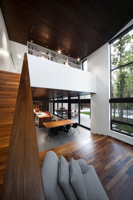 Press kit | 759-10 - Press release | Veranda House - Blouin Tardif Architecture-Environnement - Residential Architecture - Photo credit: Steve Montpetit