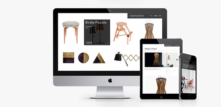 Press kit | 1121-02 - Press release | Avant-Scène celebrates its 20th anniversary with a new website - Mobilier Avant-Scène - Graphic Design - New website - Photo credit: Avant-Scène