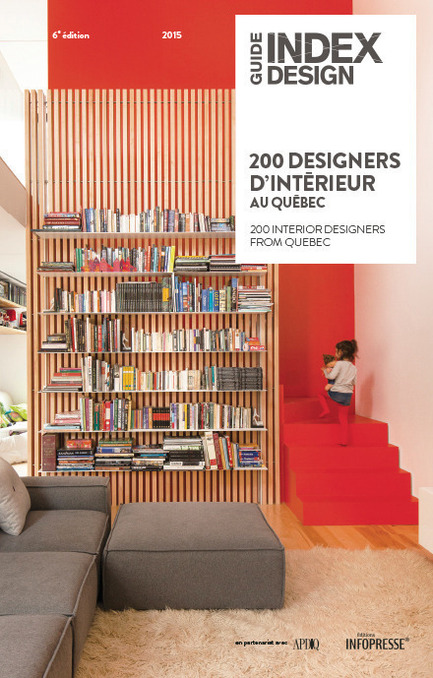 Press kit | 611-17 - Press release | Index-design launches the 6th edition of the Guide – 200 interior designers from Quebec - Index-Design - Edition - Cover - Photo credit: Index_design