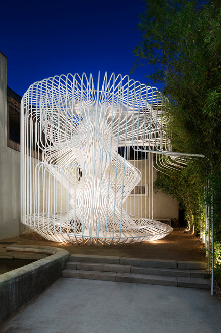 Press kit | 809-15 - Press release | Azure announces the finalists of the fifth annual AZ Awards - Azure Magazine - Competition - Temporary / Demonstration Architecture: Warren Techentin Architecture: La Cage aux Folles, Los Angeles, USA<br> - Photo credit:  AZ Awards 2015