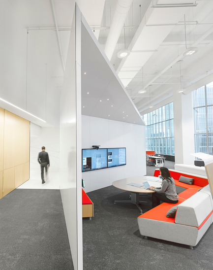 Press kit | 809-15 - Press release | Azure announces the finalists of the fifth annual AZ Awards - Azure Magazine - Competition - Commercial  ⁄ Institutional Interiors: Superkül: Steelcase WorkLife, Toronto, Canada<br> - Photo credit:  AZ Awards 2015