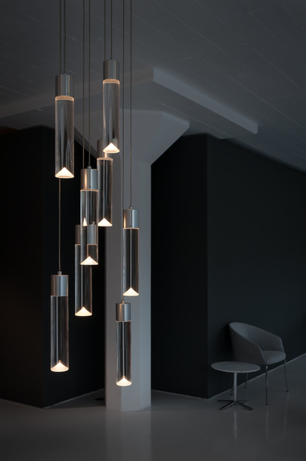 Press kit | 1615-01 - Press release | Canadian Lighting Company Archilume Unveils New LED Chandeliers at  ICFF, May 16-19, 2015 - Archilume - Lighting Design - Archilume P8 <br> - Photo credit:  Cat Segovia Photography